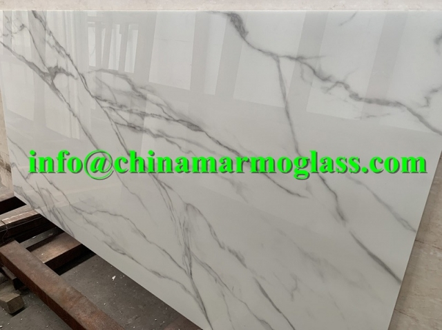nano calacatta nanoglass slabs factory price