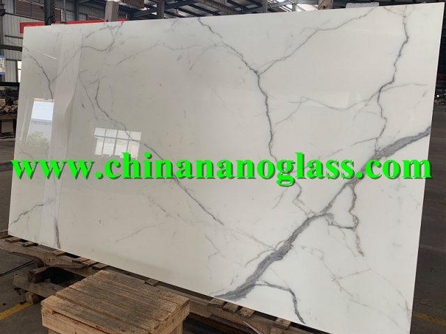 Crystallized Nano Glass CALACATTA EXTRA Slab