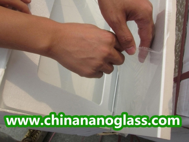 Composite crystal glass 600x600mm
