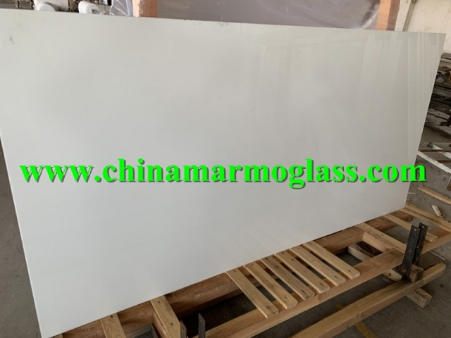 Super White Nano 1.8-3CM Crystallized Glass Slab