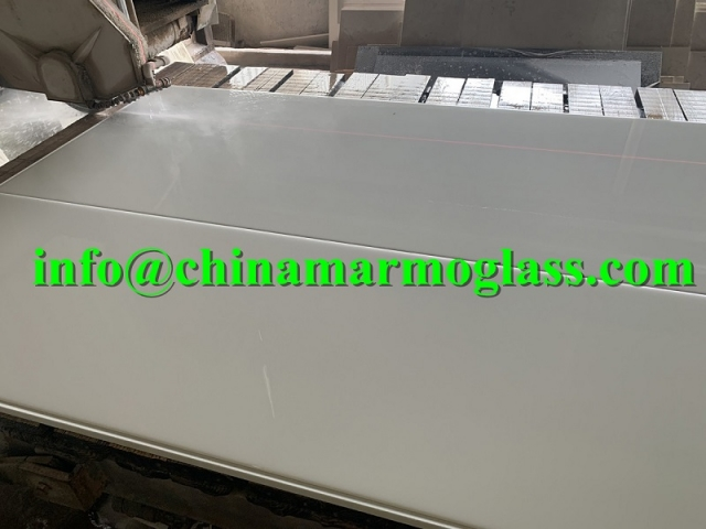 Neoparies Glass Neoparies Slabs White Neoparies Crystallised Glass